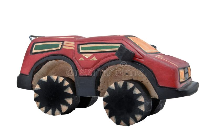 Download Wooden toy SUV stock image. Image of vehicle, truck, sports - 10070147