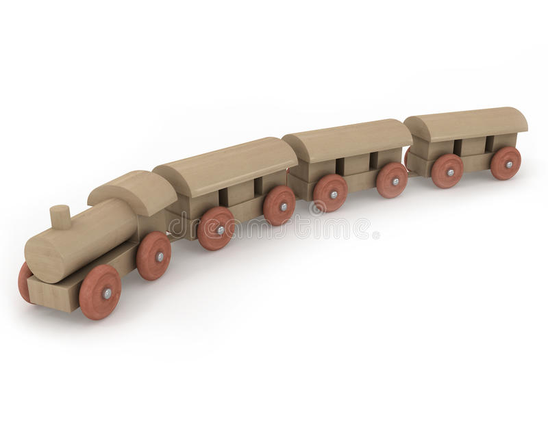 Download Wooden Toy Train Royalty Free Stock Images - Image: 13143139