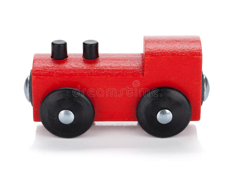 Download Wooden toy train stock image. Image of isolated, preschool - 26595277