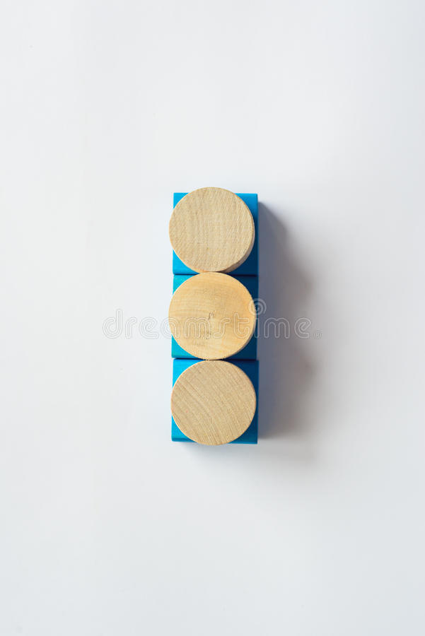 Wooden toys Design royalty free stock images