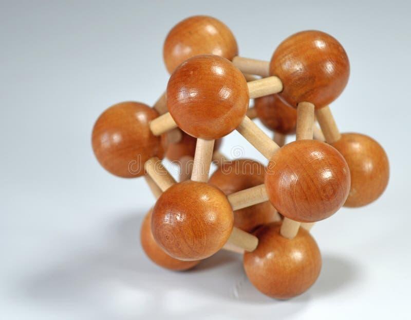 Wooden toys. Wooden logic toys - brain game royalty free stock photos