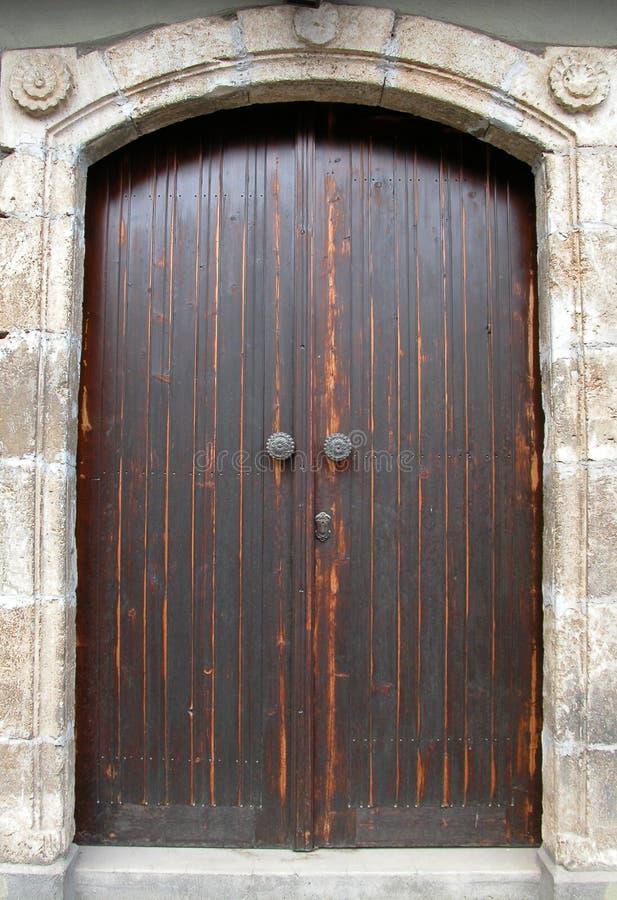 Free Wooden Traditional Door Stock Photo - 638770
