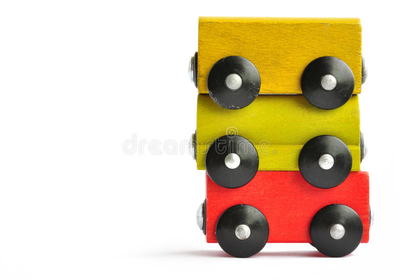 Wooden Train Royalty Free Stock Image