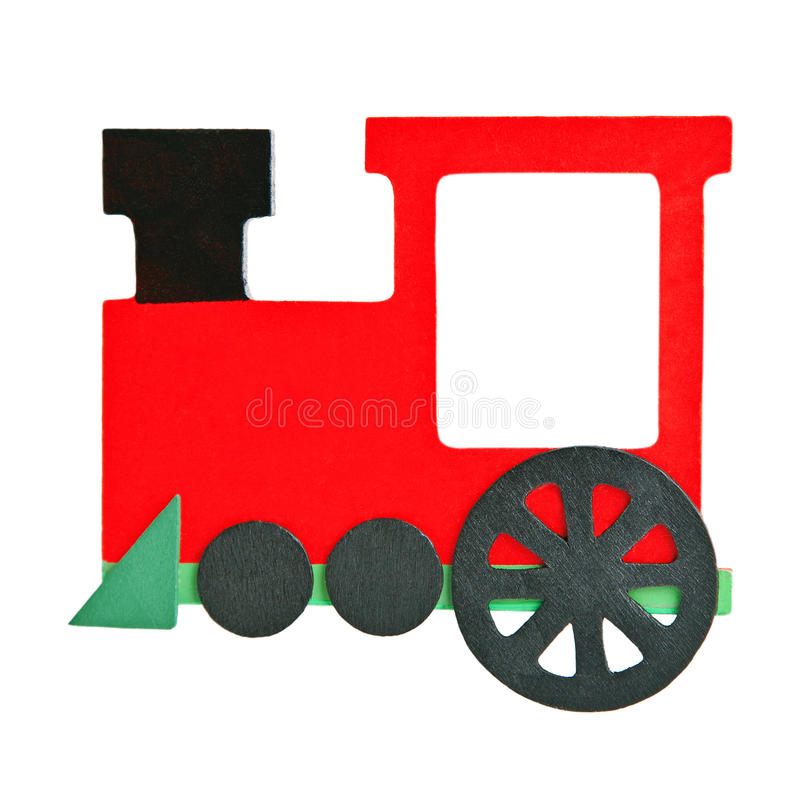 Download Wooden train stock photo. Image of green, figure, symbol - 22359336
