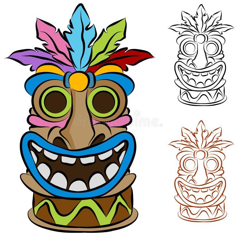 Free Wooden Tribal Tiki Idol Stock Photos - 19977433