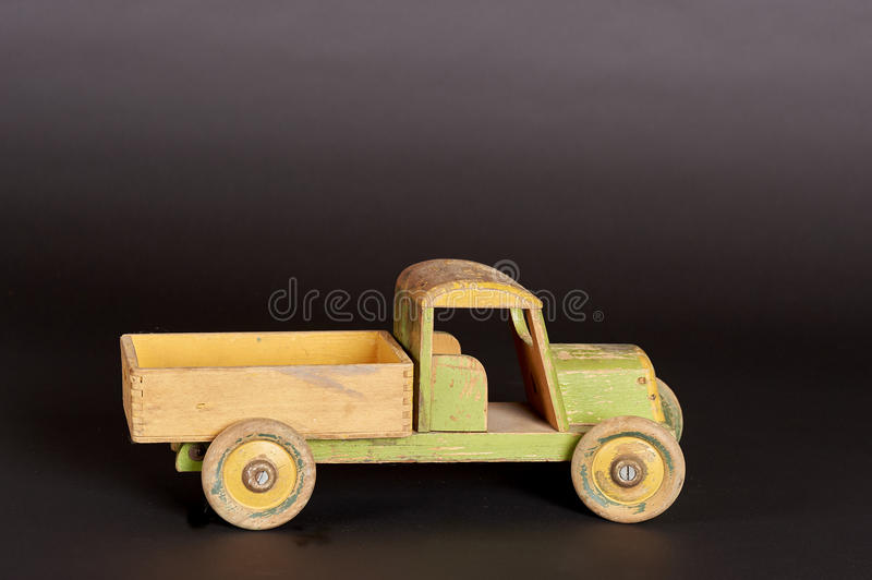 Wooden Truck stock images
