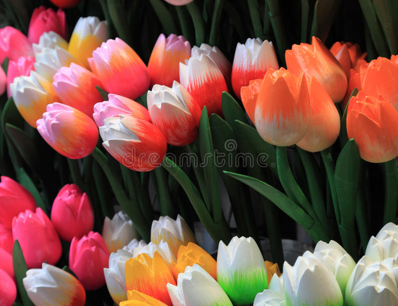 Download Wooden tulips stock image. Image of wooden, pink, tradition - 24241521