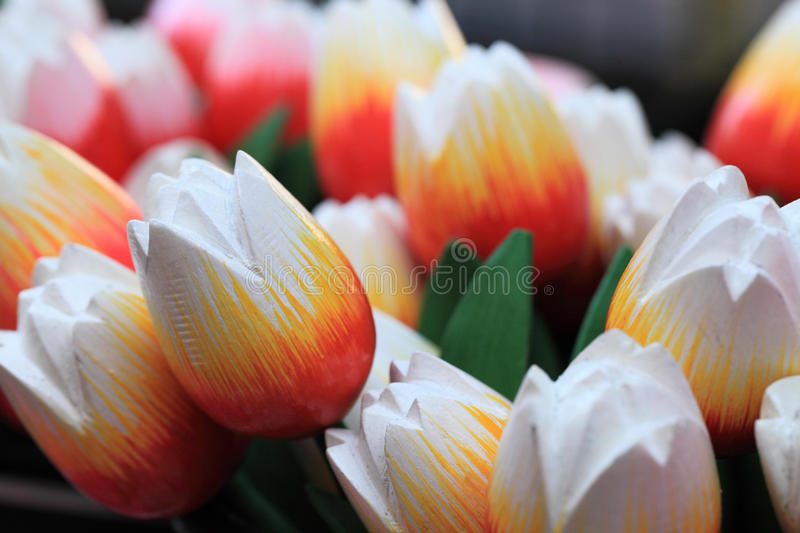 Download Wooden tulips stock image. Image of tulips, market, souvenirs - 24241645