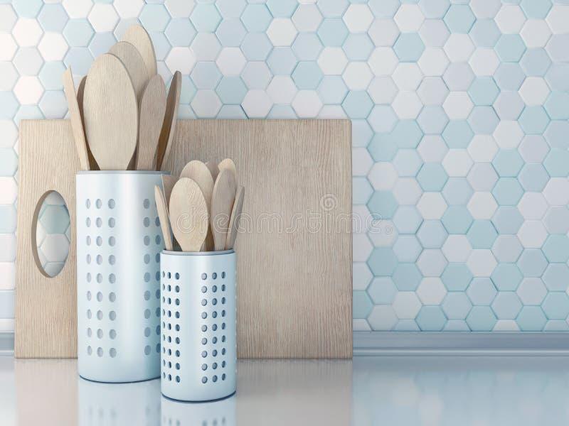 Wooden utensils. stock images