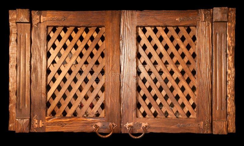 Wooden vintage furniture royalty free stock image
