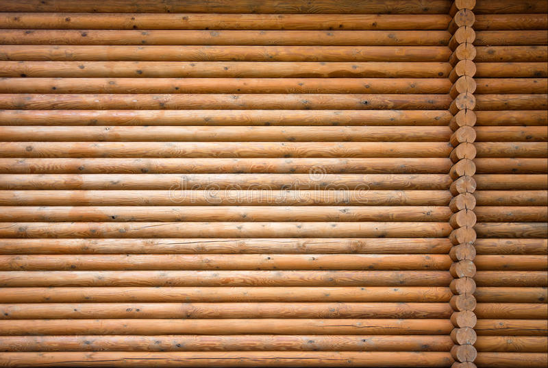 Wooden Wal Royalty Free Stock Photo