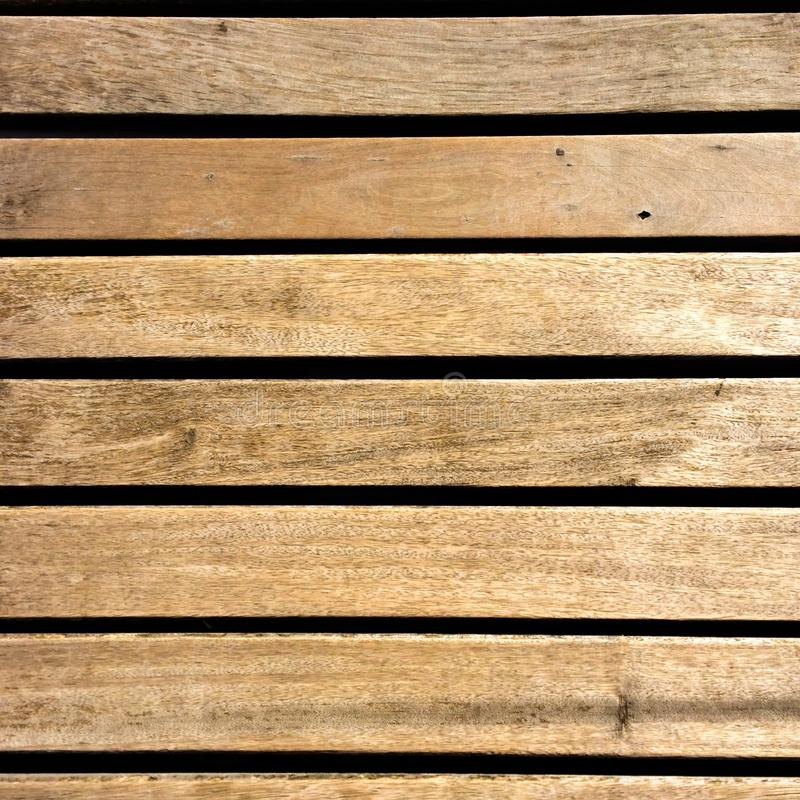 Wooden walkway background texture, from above stock images