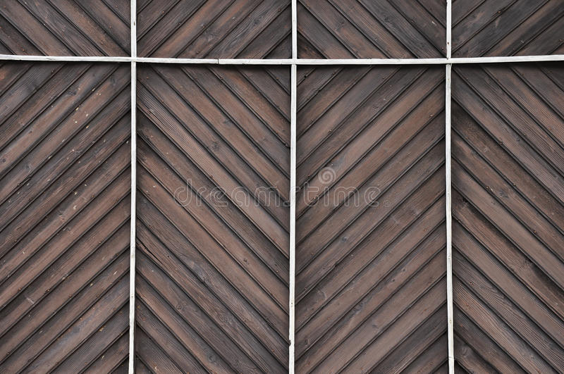 Wooden wall background looks like designed table royalty free stock photo