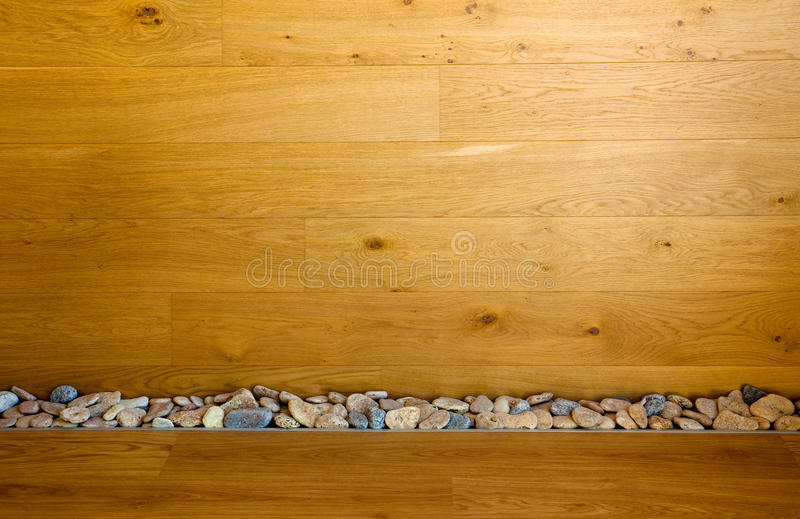 Download Wooden Wall And Floor With Stones Line Stock Image - Image: 23568251