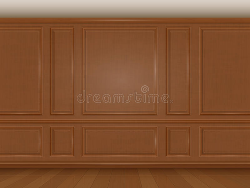 Wooden Wall Panel Stock Vector Illustration Of Panel