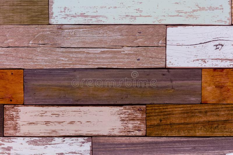 Wooden wall pattern. Wooden wall non smooth pattern stock photography