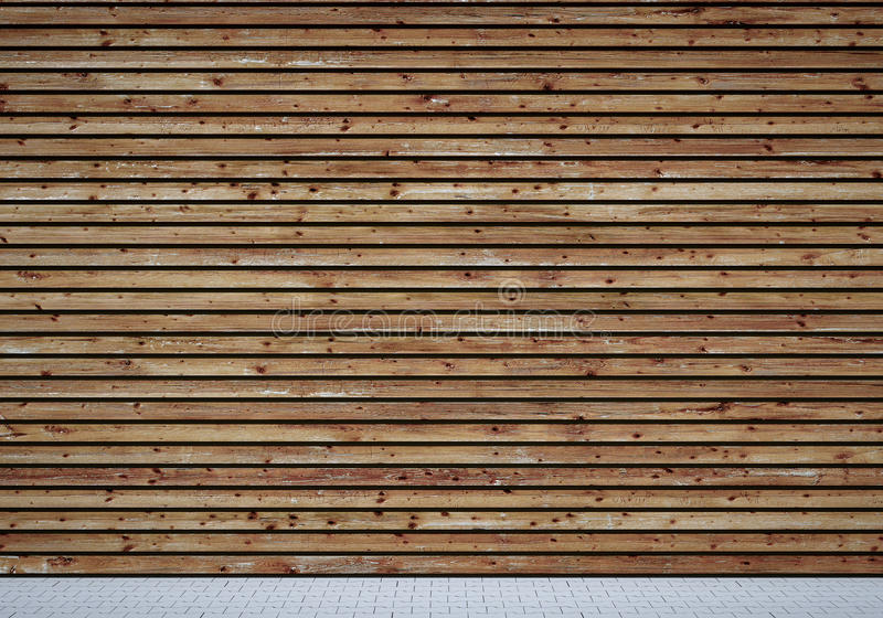 Download Wooden wall stock illustration. Illustration of brown - 37196371