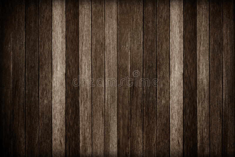 Wooden wall texture background; Dark old wood background royalty free stock photography