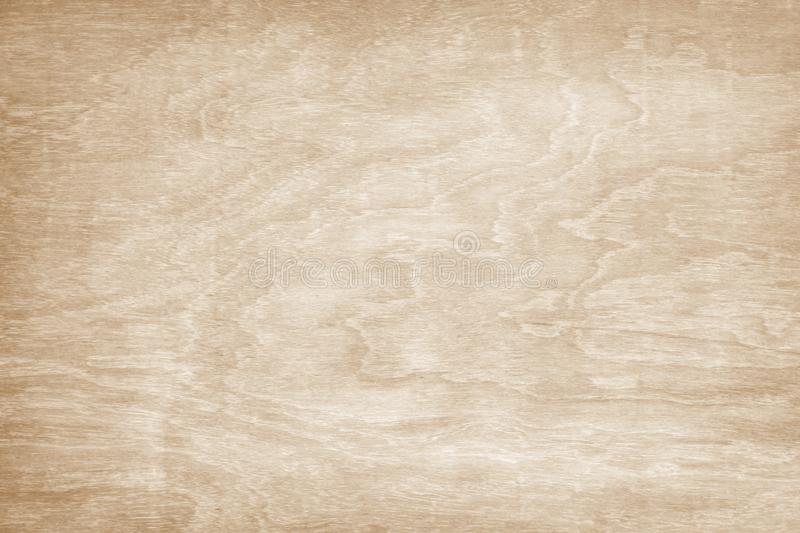 Wooden wall texture background, Light brown natural wave patterns abstract in horizontal royalty free stock images