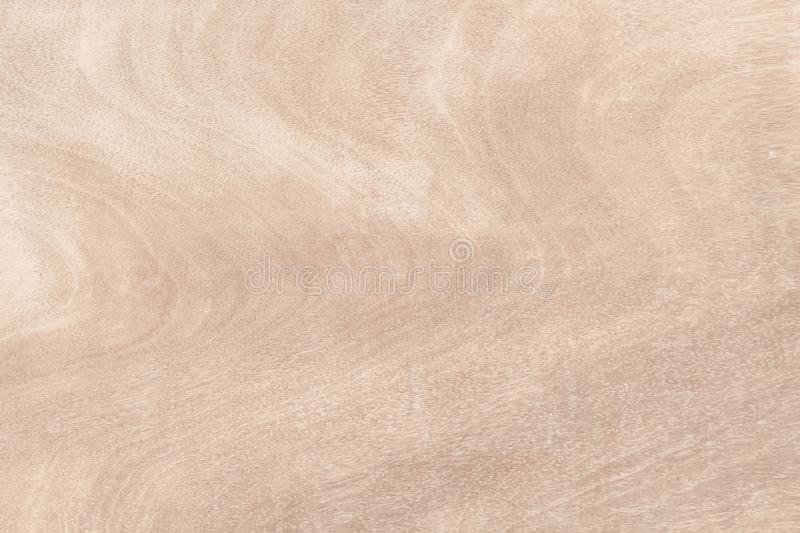Wooden wall texture background, Light brown natural wave patterns abstract in horizontal royalty free stock photo