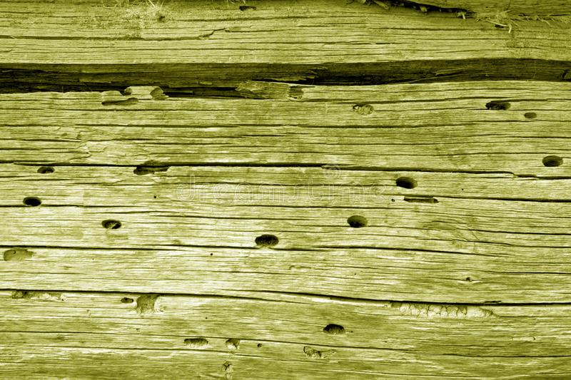 Wooden wall texture in yellow color. Abstract background and texture for design, vintage, old, weathered, timber, tree, carpentry, natural, painted, materials stock photo