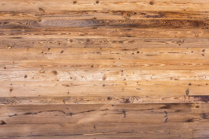 Wooden wall. With a beautiful wood grain stock images