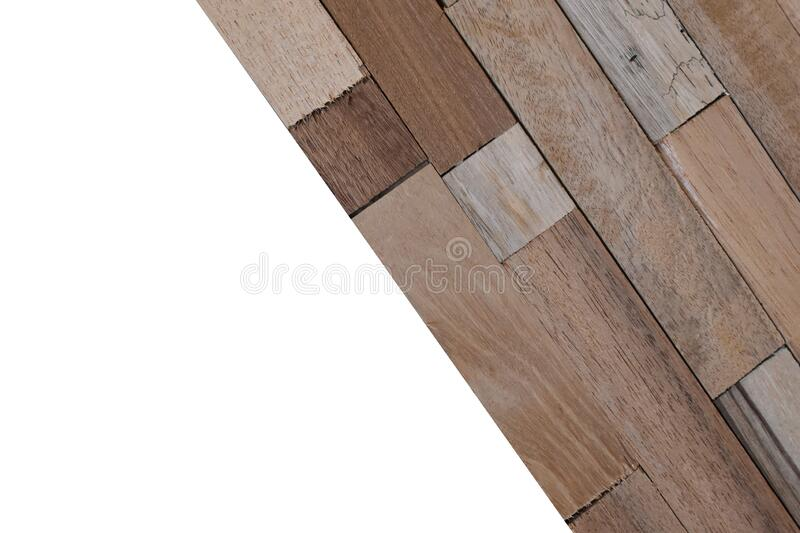 Wooden wallpeper on white background. Isolated Wooden wallpeper on white background with clipping path stock images