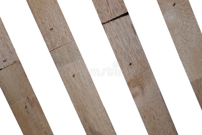 Wooden wallpeper on white background. Isolated Wooden wallpeper on white background with clipping path stock photos