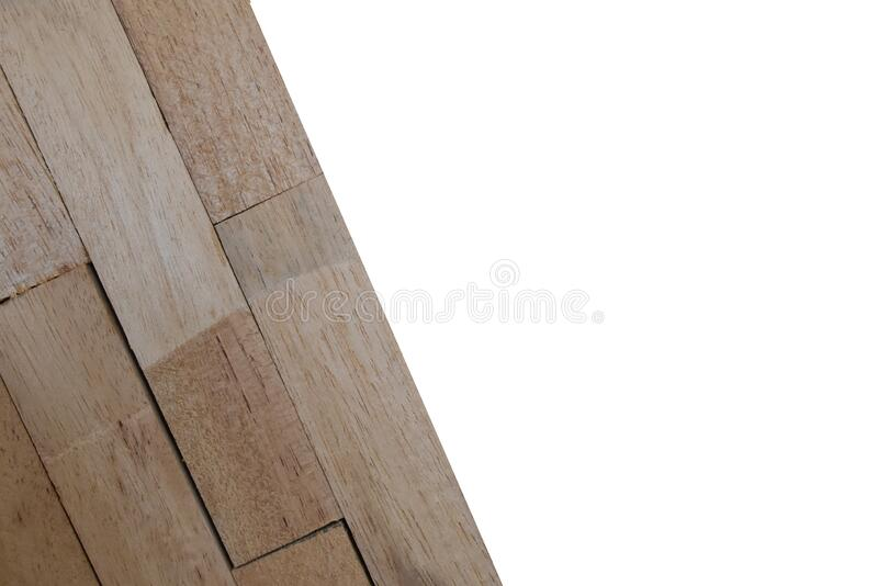 Wooden wallpeper on white background. Isolated Wooden wallpeper on white background with clipping path stock photography
