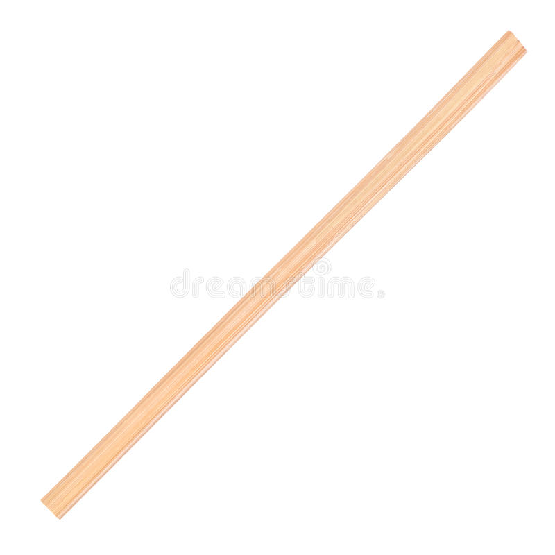Free Wooden Wand Closeup On Isolated White Background Stock Photos - 84993183
