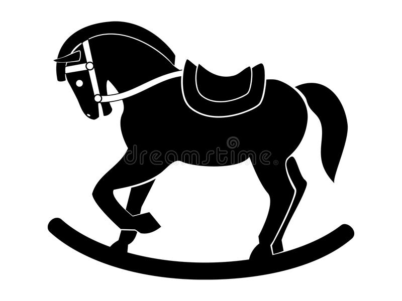 Download Wooden War Horse Royalty Free Stock Photography - Image: 16432227