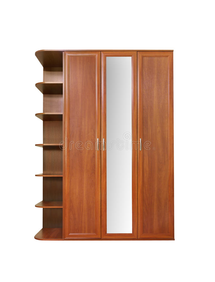 Free Wooden Wardrobe Stock Images - 9825904
