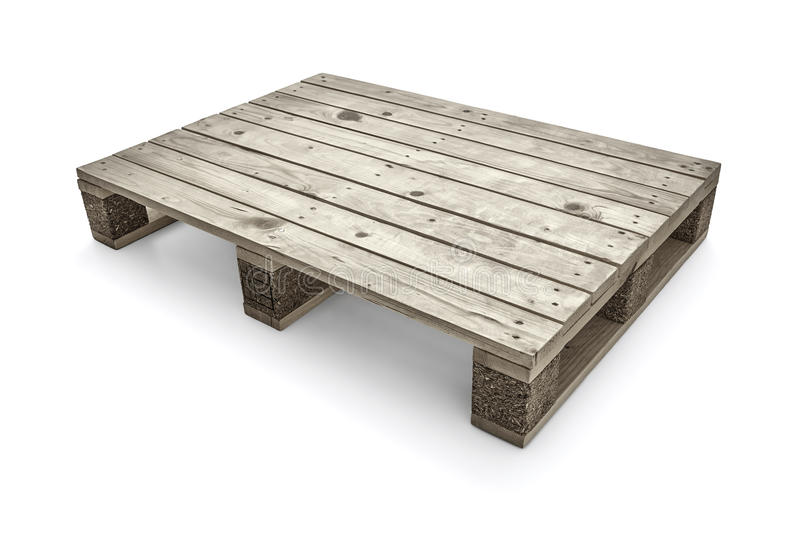 Download Wooden Warehouse Pallets -Clipping Path Stock Photo - Image: 41337528