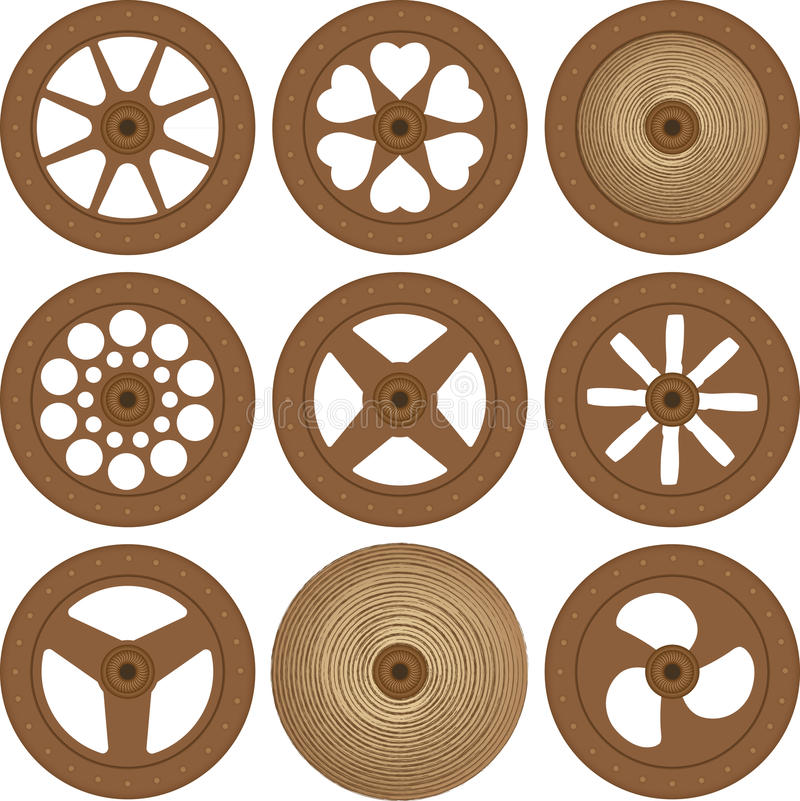 Download Wooden wheels stock photo. Image of dried, wagon, retro - 37247924