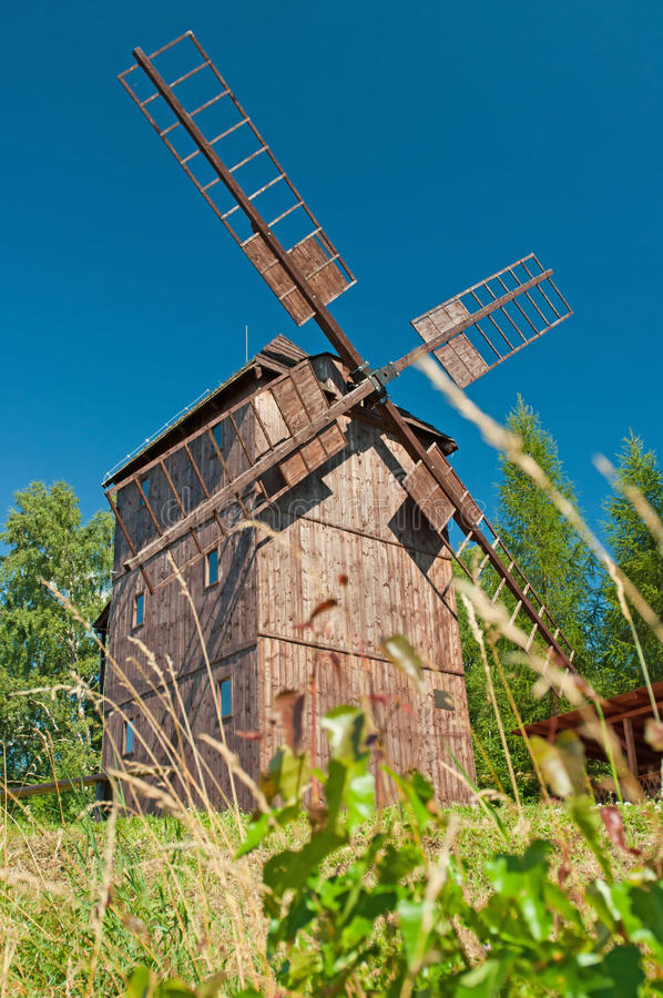 Download Wooden Windmill Royalty Free Stock Images - Image: 20621549