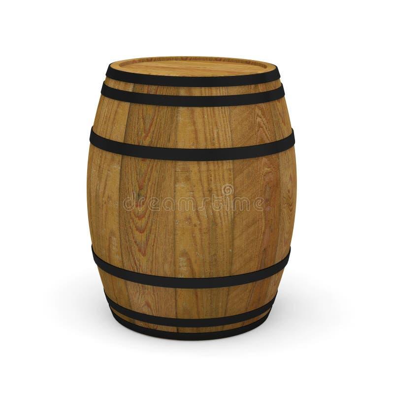 Wooden wine barrels alcohol beer barrel royalty free stock photos