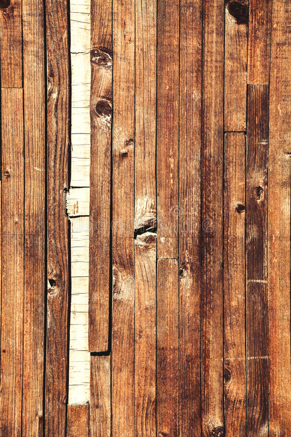 Worn Down Wooden Planks ~ Wooden worn vertical brown planks grunge