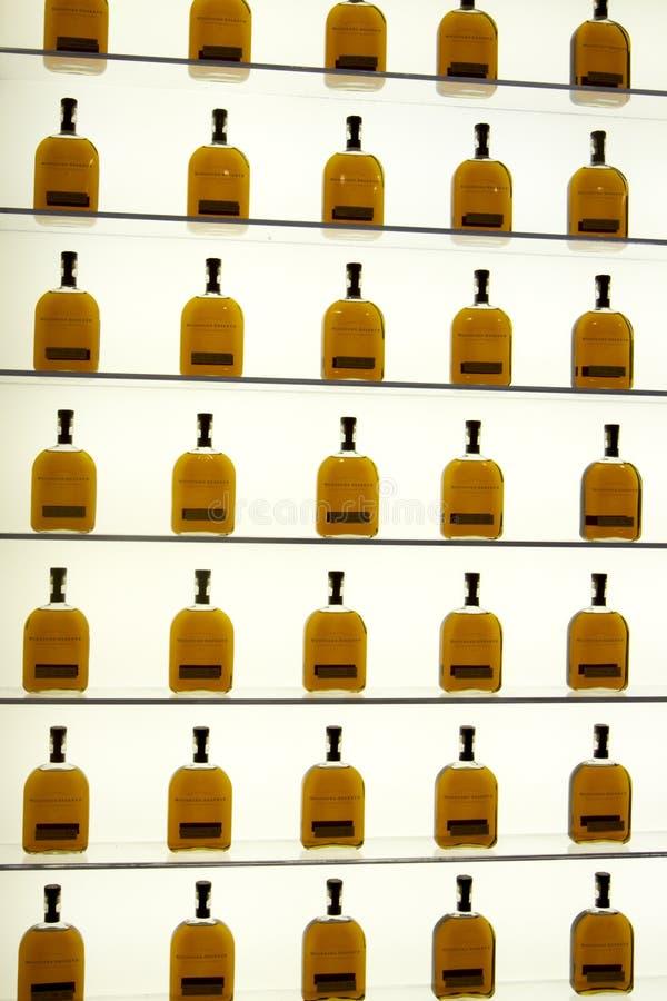 Woodford rezerwy gości centrum butelki pokaz zdjęcie royalty free