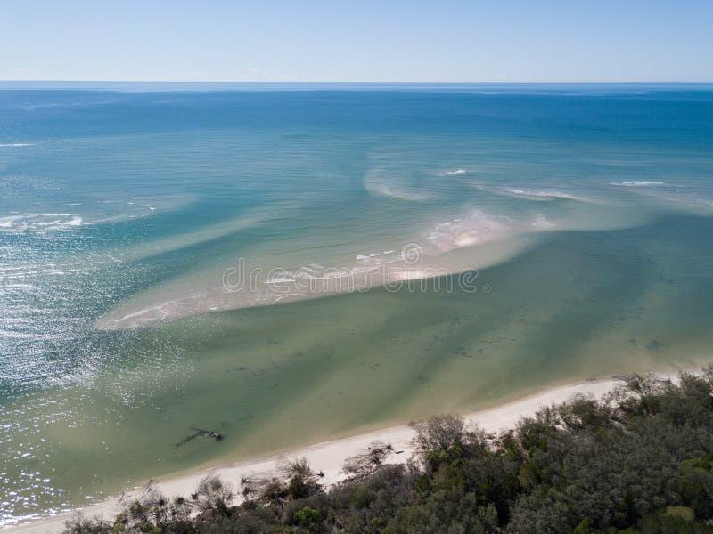 Woodgate est une petite ville de pêche au Queensland photos stock