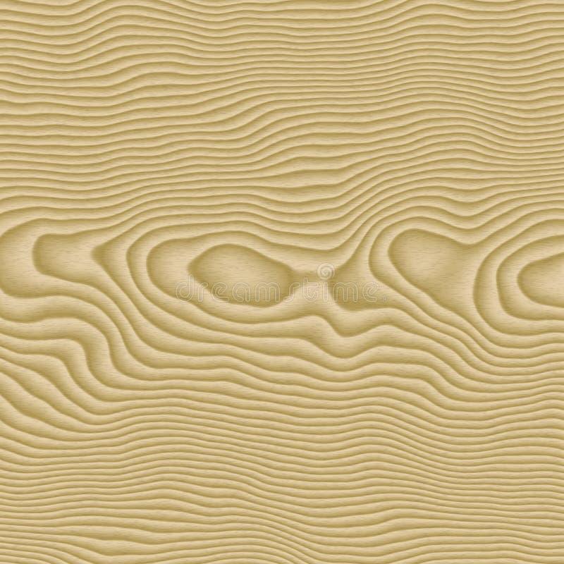 Woodgrain do pinho Knotty ilustração royalty free