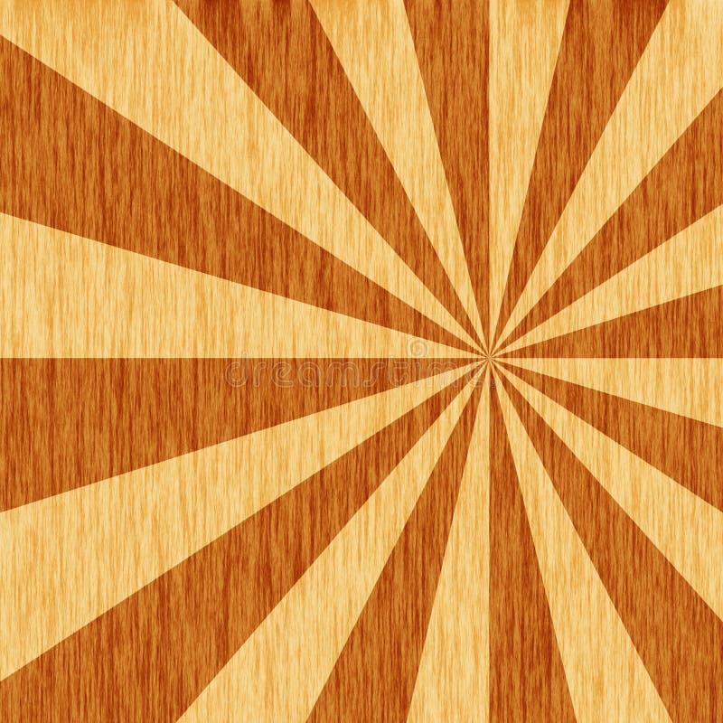 Woodgrain starburst royalty free stock images