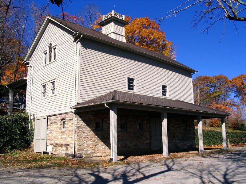 Woodhouse perto do Parkway azul de Ridge imagens de stock