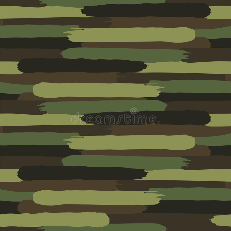 Woodland Camouflage. Formless spotted pattern royalty free illustration