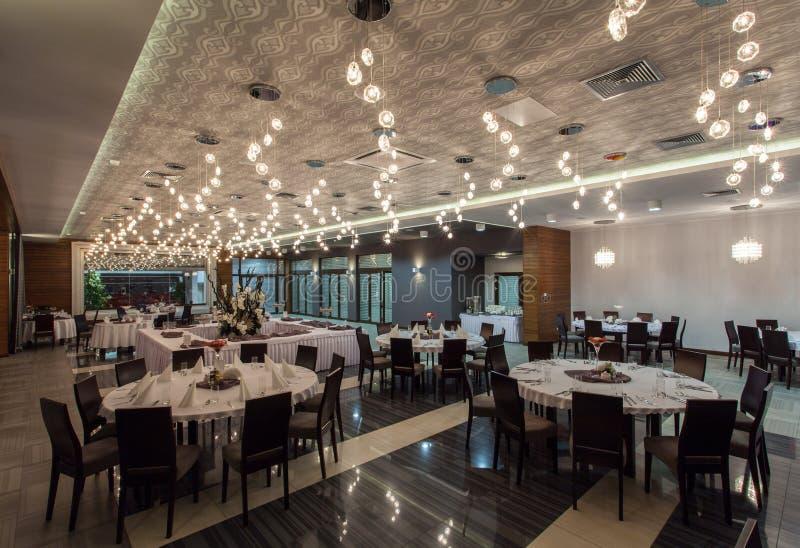Woodland Hotel - Restaurant Stock Images