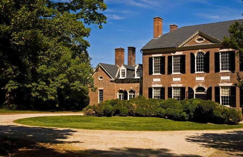 Woodlawn Villa Virginia lizenzfreies stockbild