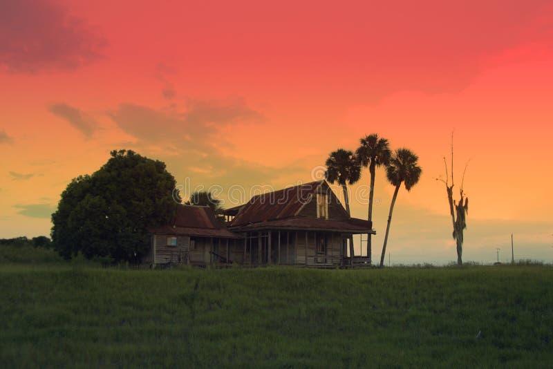 Woodlea议院塔瓦雷斯佛罗里达 库存图片
