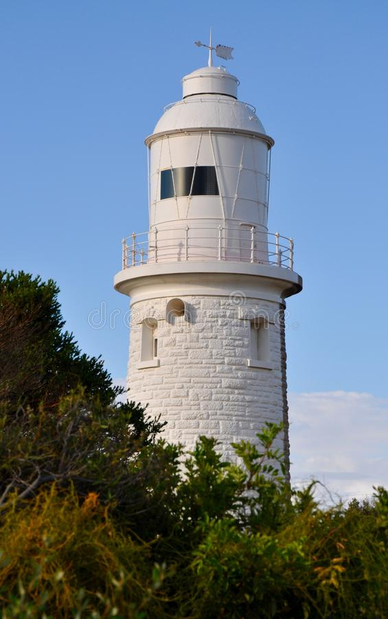 Woodman Point Lighthouse: Australian Bush stock images