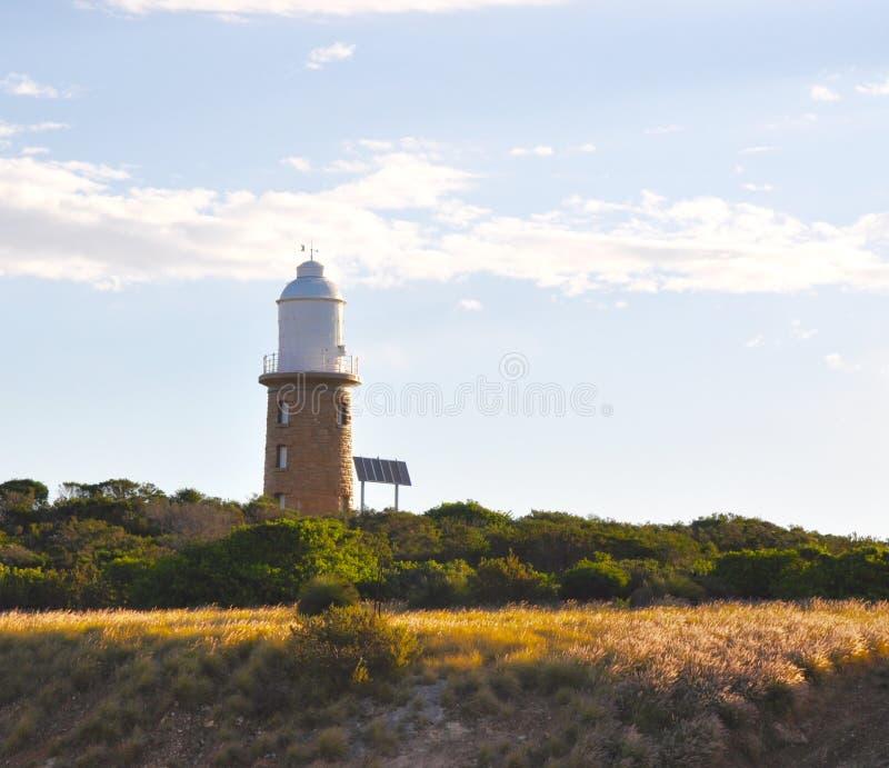 Woodman Point Lighthouse Sunlit Landscape royalty free stock image