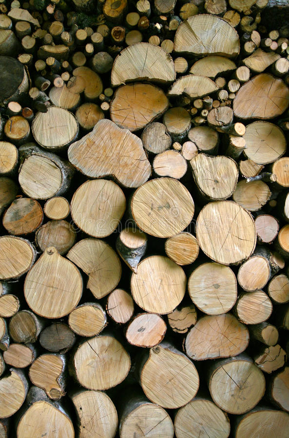 Woodpile stock fotografie