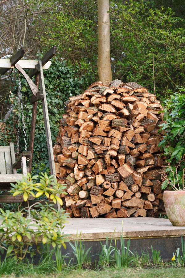 Download Woodpile stock image. Image of garden, house, drying - 25523025